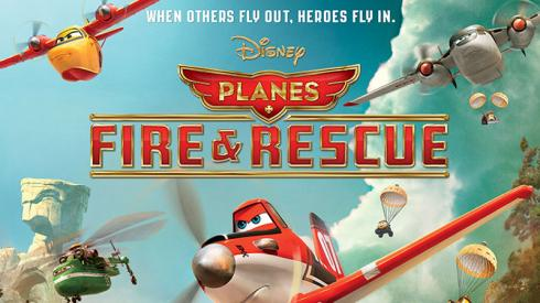 فيلم Planes Fire and Rescue 2014 مدبلج عربي