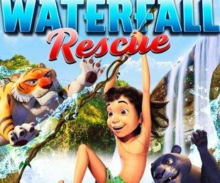 شاهد فيلم The Jungle Book Waterfall Rescue 2015 مترجم عربي