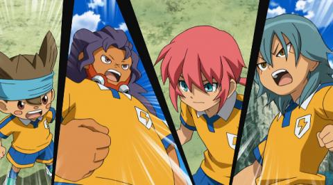 فلم Inazuma Eleven GO the Movie the ultimate bonds gryphon مترجم عربي