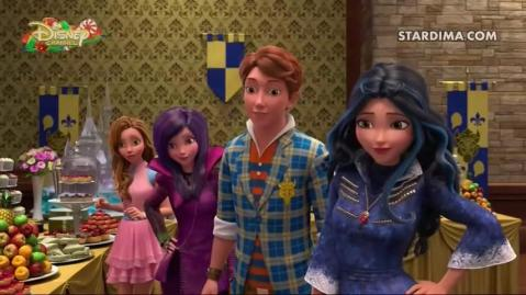 descendants wicked world الحلقة 2